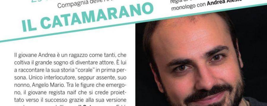 """""""Il Catamarano"""" in scena al Teatro Tosti di Ortona il 29 febbraio"""