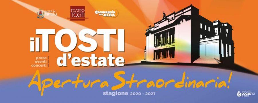COMUNICATO STAMPA  - Il TEATRO TOSTI D'ESTATE